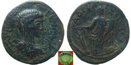 LaZooRo: Roman Empire - Phrygia - Hadrianopolis-Sebaste AE23 Of Geta As Caesar (198 – 209 – 211 AD), Tyche - Romaines