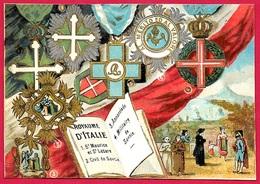 CHROMO (décorations Du) Royaume D'Italie ** Italia Décoration Volcan - Artis Historia