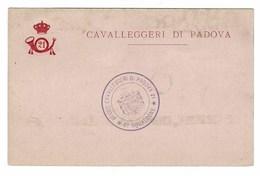 3925 - 21 REGGIMENTO CAVALLEGGERI DI PADOVA 6° SQUADRONE - Regiments
