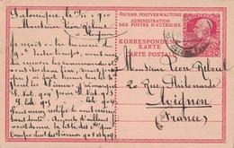LEVANT - SALONIQUE - LE 14 NOVEMBRE 1910 - ENTIER POSTAL POUR AVIGNON FRANCE. - Eastern Austria