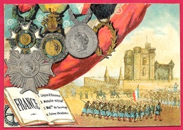 CHROMO (décorations De) France Dont Légion D'Honneur ** Décoration - Artis Historia