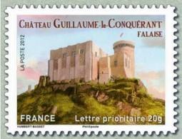 2012 Yt Adh 714 (o) Château De Guillaume Le Conquérant à Falaise - Oblitérés