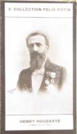 Henry Houssaye- Journaliste, Historien, Critique Littéraire Académie Française - 2ème Collection Photo Felix POTIN 1908 - Félix Potin