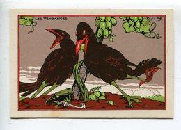 Oiseaux Ray Lambert  Diases Vendange - Chromos