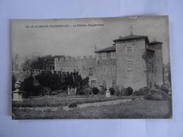 CPA  42  Le Chambon-Feugerolles Le Chateau  TBE - Le Chambon Feugerolles