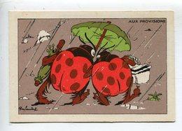 Coccinelle Parapluie   Ray Lambert - Chromos