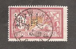 Perforé/perfin/lochung France Merson No 121 H.W Les Petits Fils De F. De Wendel - France