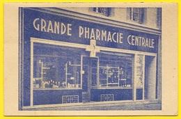 Calendrier Petit Format 1953 R. Brandel Pharmacien - Grande Pharmacie Centrale 27 EVREUX Rue Des Lombards - Petit Format : 1941-60