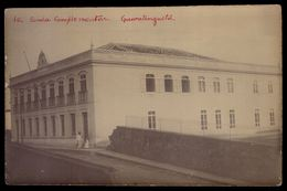 POSTAL FOTOGRAFICO: Escola Complementar GUARATINGUETÁ S.Paulo BRASIL - Old Real Photo Postcard BRAZIL 1900s - Rio De Janeiro