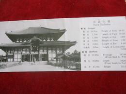 Ticket Ancien/JAPON/ Visite De Monument /NARA DAIBUTSU/ Temple / Great Image Of Buddha/1983       TCK147 - Tickets - Vouchers