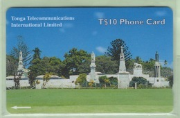 "Tonga - TTIL - 2000? Fourth Issue - Royal History - $10 Royal Tombs  - TON-11 - ""36CTDB"" - VFU - Tonga"