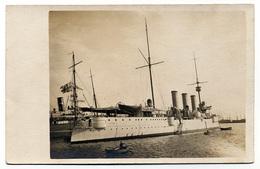 Marine Militaire Croiseur Cuirassé Kriegsschiff Warship FYLGIA SHIP SWEDEN - Guerra