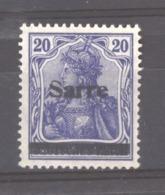 Sarre  :  Yv 8  **  Type I - 1920-35 Saargebied -onder Volkenbond