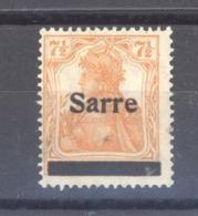 Sarre  :  Yv 5  **  Type I - 1920-35 Saargebied -onder Volkenbond