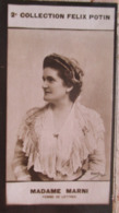 Jeanne MARNI Jeanne Marniere  Romancière, Auteur De Comédies Et De Vaudeville.  - 2ème Collection Photo Felix POTIN 1908 - Félix Potin