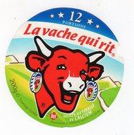 Fev20     12 AA 132  étiquette  VACHE QUI RIT      Bel   12 Portions - Käse