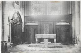! - France - Amiens - Cathédrale - Les Fonds Baptismaux (XIIIè Siècle) - 2 Scans - Amiens