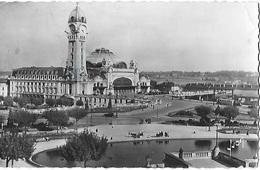 ! - France - Limoges - La Gare Et Les Jardins - 2 Scans - Limoges