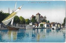 ! - France - Annecy - Entrée Du Port - 2 Scans - Annecy