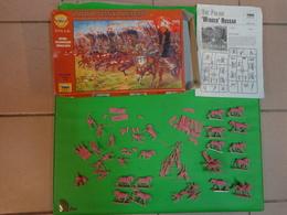 Figurines ZVEZDA  1/72 Ref 8041 Polish Wunged Hussars - Small Figures