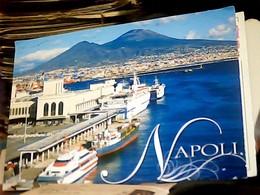 NAPOLI PORTO NAVE SHIP CARGO  FERRY  ALISCAFO  VB2018 HL5185 - Napoli (Nepel)