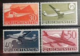Liechtenstein 1960 / Yvert Poste Aérienne N°34-37 / ** - Luftpost