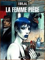 Carte Postale : La Femme Piège (Casterman - Affiche) Illustration Enki Bilal - Illustrateurs & Photographes