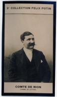 """François De Nion Né à Pierrefonds - Rédacteur """"La Revue Indépendante"""" - 2ème Collection Photo Felix POTIN 1908 - Félix Potin"""