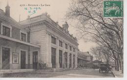 CPA Avignon - La Gare (avec Petite Animation) - Avignon