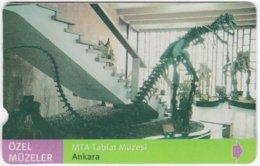 TURKEY C-074 Magnetic Telekom - Culture, Museum - Used - Türkei