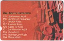 TURKEY C-268 Magnetic Telekom - Used - Türkei