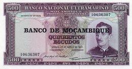 MOZAMBIQUE 500 ESCUDOS 1976 P-118a.2  UNC - Mozambique