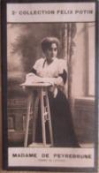 Mme Georges De Peyrebrune Né à  Saint-Orse - Auteur De Romans Populaires -  2ème Collection Photo Felix POTIN 1908 - Félix Potin