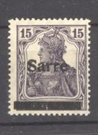 Sarre  :  Yv 7  **  Type I - 1920-35 Saargebied -onder Volkenbond