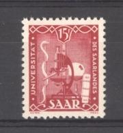 Sarre  :  Yv  252  **         ,     N2 - 1947-56 Gealieerde Bezetting