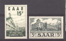Sarre  :  Yv  327-28  ** - 1947-56 Gealieerde Bezetting