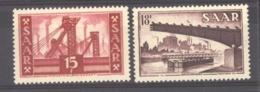 Sarre  :  Yv  337-38  ** - 1947-56 Gealieerde Bezetting