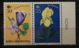Bosnie-Herzégovine 1996 / Yvert N°195-196 / ** / Fleurs - Bosnie-Herzegovine