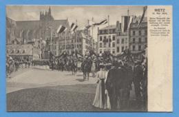 57 - METZ - INAUGURATION DU NOUVEAU TEMPLE - 14 MAI 1904 - KAISER A CHEVAL - HURLIN N°171 - VOIR ZOOM - Metz