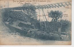 CPA Pont De Gallet (Galet) Près Saint-Genies De Comolas Et Roquemaure - Accident Dans La Nuit Du 23 Au 24 Septembre 1924 - Frankreich