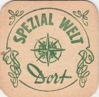 BEERMAT - BROUWERIJ SCALDIS  (HINGENE, BELGIUM) - SPEZIAL WELT DORT - (s001) - Beer Mats