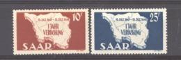 Sarre  :  Yv  248-49  ** - 1947-56 Gealieerde Bezetting