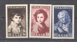 Sarre  :  Yv  316-18  ** - 1947-56 Gealieerde Bezetting