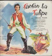 """LIVRET + DISQUE 25 CM Vinyl, 8"""", 33 ⅓ RPM FANFAN LA TULIPE GERARD PHILIPE / 1954-1956 - Formats Spéciaux"""