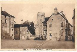 ! - France - Luxeuil-les-Bains - La Place - 2 Scans - Luxeuil Les Bains