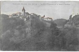 ! - France - Yzeron - Le Pic D'Yzeron Et Le Grand Rocher (alt. 810m) - 2 Scans - France