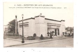 Paris- Exposition Des Arts Décoratifs -Pavillon Christofle - Baccarat--(D.5566) - Expositions