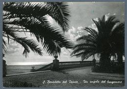 °°° Cartolina - San Benedetto Del Tronto Un Angolo Del Lungomare Viaggiata °°° - Ascoli Piceno