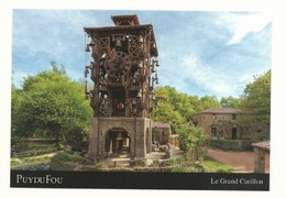 CPM 85 Les Epesses - Parc D' Attraction Du Puy Du Fou Le Grand Carillon  Pendule à Eau - Vétélé Photo Puy Du Fou Neuve - Other Municipalities