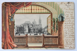 Dom, Aachen, Deutschland Germany, 1902, Embossed Postcard - Aachen